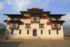 O Trashigang Dzong Fotos de Stock Royalty Free