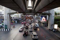 O trasport público de Banguecoque Imagens de Stock