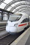 O trem rápido super do GELO Foto de Stock