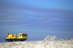 O trem só (serviço de manutenção) Imagens de Stock Royalty Free