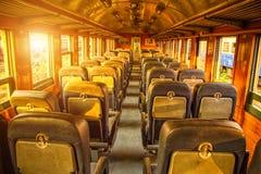 O trem Seat imagens de stock royalty free
