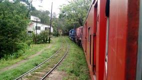 O trem treck Fotografia de Stock
