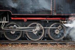 O trem velho do motor de vapor Fotos de Stock