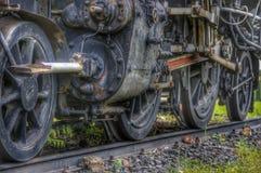 O trem velho do motor de vapor Imagens de Stock Royalty Free
