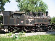 O trem velho do motor de vapor Imagens de Stock