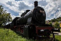 O trem velho do motor de vapor Imagem de Stock Royalty Free