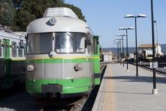 O Trenino Verde de Sardinia imagem de stock royalty free