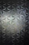 O triângulo 2D da textura, fundo dimensional do triângulo imagens de stock
