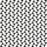 O triângulo e o paralelogramo abstratos geométricos sem emenda modelam o fundo da textura Imagens de Stock Royalty Free