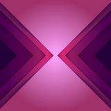 O triângulo roxo abstrato dá forma ao fundo Fotografia de Stock Royalty Free
