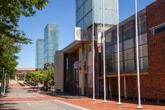 O Tribunal Constitucional em Joanesburgo imagem de stock royalty free