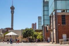 O Tribunal Constitucional em Joanesburgo fotos de stock