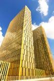 O tribunal de justiça europeu em Luxemburgo Fotos de Stock Royalty Free