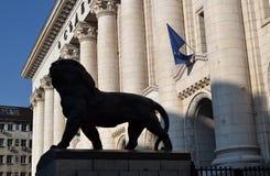 O tribunal de Sófia, Bulgária fotos de stock royalty free