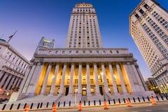 O tribunal do Estados Unidos Fotografia de Stock