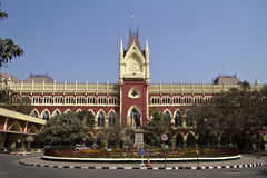 O tribunal federal de Calcutá Imagens de Stock