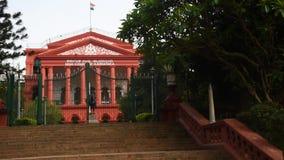 O tribunal federal de Karnataka, Bangalore, Karnataka video estoque