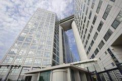 O Tribunal Penal internacional em Haia Fotografia de Stock Royalty Free