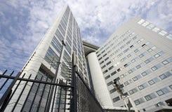 O Tribunal Penal internacional em Haia Foto de Stock