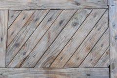 O trilho de madeira Fotografia de Stock