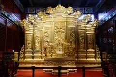 O Trono do rei Imagem de Stock