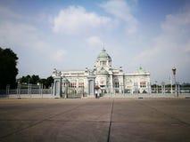 O trono Salão de Ananda Samakhom em Banguecoque Imagens de Stock Royalty Free