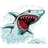 O tubarão ilustração royalty free