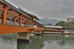 o Tuen Mun River Beautification Project imagem de stock