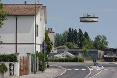 O UFO Foto de Stock Royalty Free