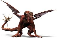 O um dragão Imagens de Stock Royalty Free