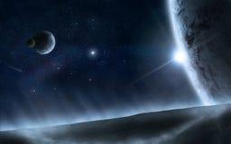 O universo 2 ilustração stock
