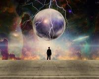 O universo ilustração stock