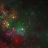 O universo de Sir Douglas Fresh | Arte do Fractal Imagens de Stock