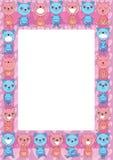 O urso agrupa Frame_eps Imagem de Stock