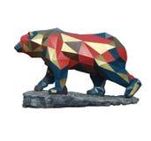 O urso cubista Foto de Stock Royalty Free