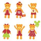 O urso da coleção. imagem de stock royalty free