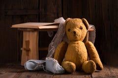 O urso de peluche Imagem de Stock Royalty Free
