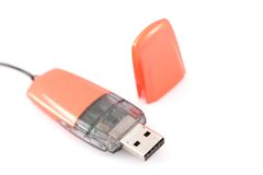 O USB Flash-Conduz Foto de Stock Royalty Free