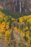 O véu nupcial cai Telluride Fotografia de Stock Royalty Free