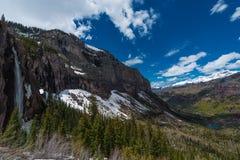 O véu nupcial cai Telluride Colorado Fotografia de Stock