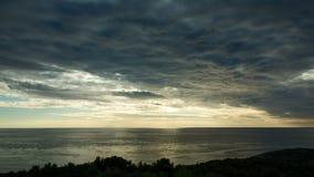 O vídeo bonito da natureza e da paisagem da Croácia costeia vídeos de arquivo