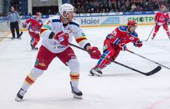 O. Vaanaanen (4) in action Royalty Free Stock Photos