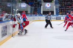 O Vaanaanen (4) contro A Kuzmenko (96) Immagine Stock
