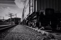 O vagão railway imagens de stock royalty free