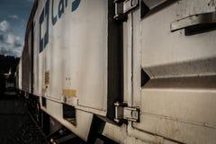O vagão railway fotografia de stock