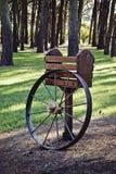 O vagão roda dentro Avos Imagens de Stock Royalty Free