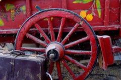 O vagão vermelho fotos de stock royalty free