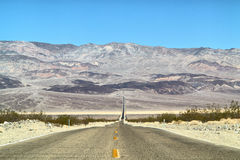 O Vale da Morte Fotografia de Stock Royalty Free