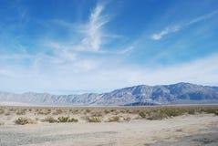 O Vale da Morte, Califórnia. Foto de Stock