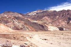 O Vale da Morte, Califórnia foto de stock